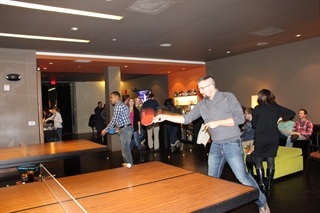 Ping Pong Tournaments are taken seriously at SWICKtech! Bring your paddle and be prepared.
