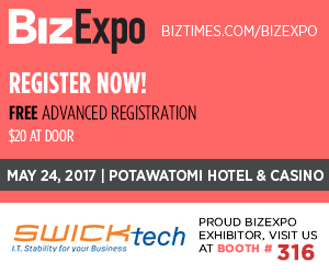 SWICKtech sponsorship at Biz Expo in Milwaukee